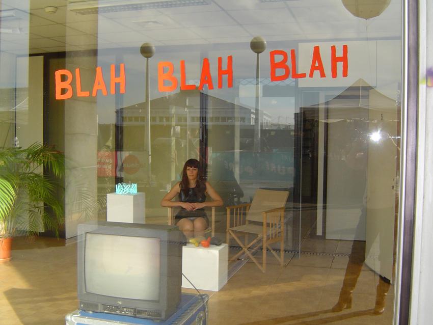 Vue de l'exposition Bruxelles/ view of exhibition BLAH BLAH BLAH 2006
