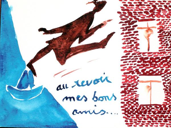 """""""au revoir les amis"""" 2003"""