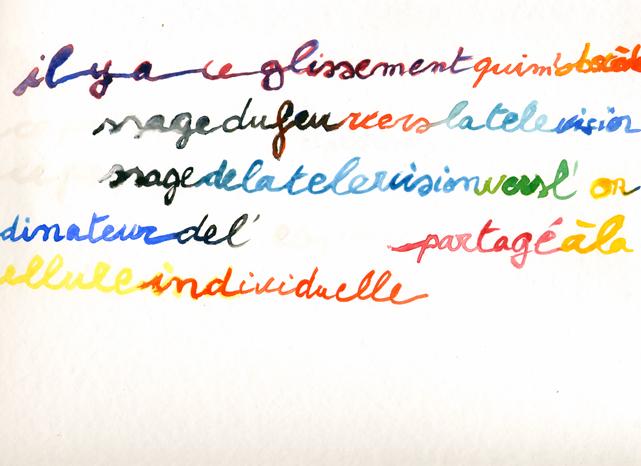 """Le Feu"" 2008"